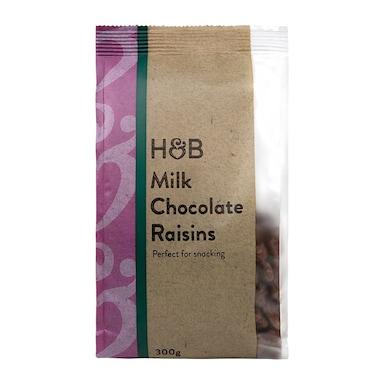 Holland & Barrett Chewy Milk Chocolate Raisins 300g