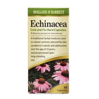 Holland & Barrett Echinacea 140mg 60 Capsules
