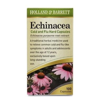 Holland & Barrett Echinacea 140mg 100 Capsules