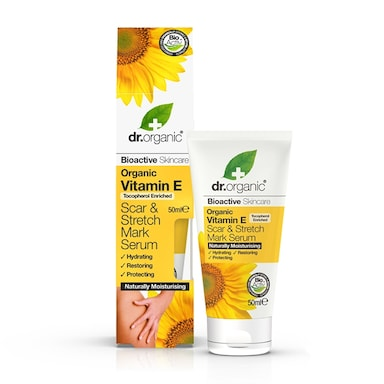 Dr Organic Vitamin E Scar & Stretch Mark Serum 50ml
