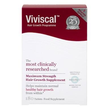 Viviscal Hair Growth Programme 180 Tablets