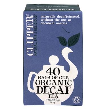 Clipper Organic Decaffeinated Everyday 40 Tea Bags
