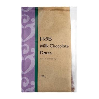 Holland & Barrett Milk Chocolate Dates 250g