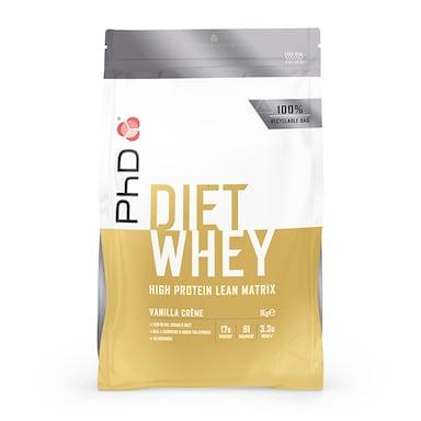 PhD Nutrition Diet Whey Protein Powder Vanilla Crème 1000g
