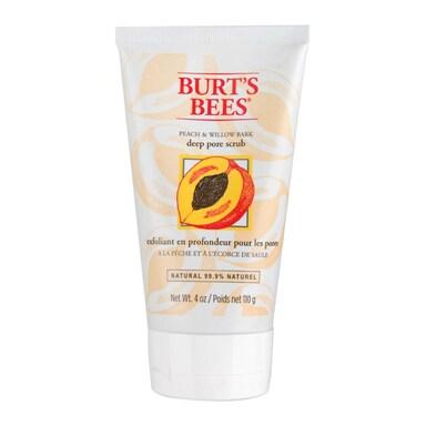 Burt's Bees Peach & Willowbark Deep Pore Scrub 113g