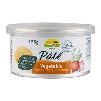 Granovita Vegetable Pate 125g