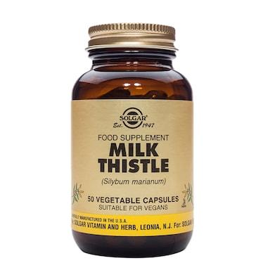 Solgar Milk Thistle 50 Vegetable Capsules