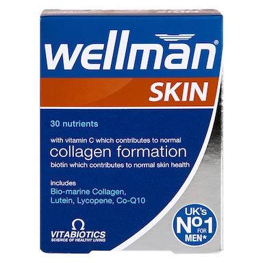 Vitabiotics Wellman Skin Technology 60 Tablets