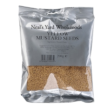 Neal's Yard Wholefoods Yellow Mustard Seed 200g