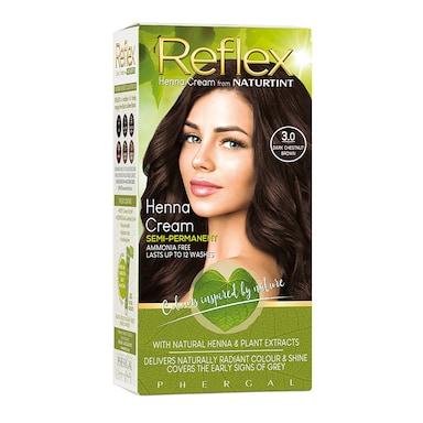 Naturtint Reflex Semi-Permanent Hair Colour 3.0 (Dark Chestnut Brown)