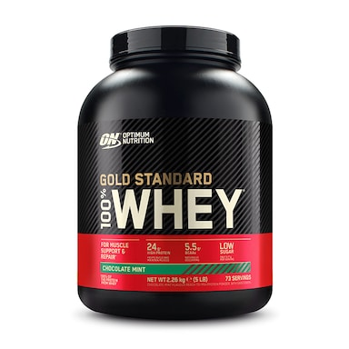 Optimum Nutrition Gold Standard 100% Whey Powder Chocolate Mint 2.27kg