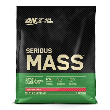 Optimum Nutrition Serious Mass Powder Strawberry 5.4kg