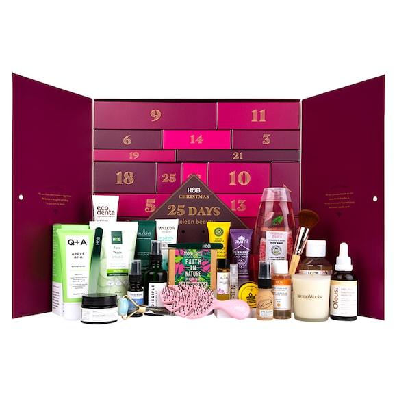 Contents: The Holland & Barrett 25 Days Of Natural Beauty Advent Calendar 2020