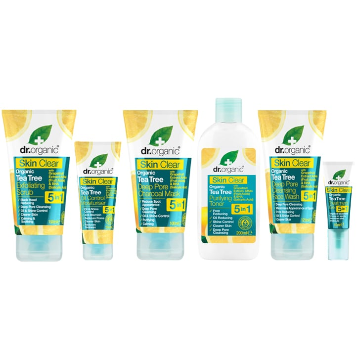 Dr Organic Face and Skincare Package