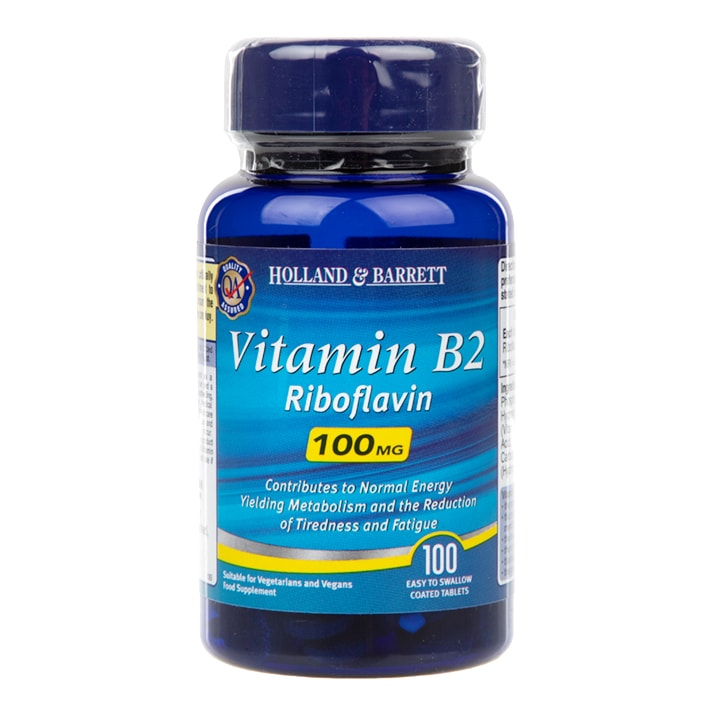 Holland & Barrett B2 Tablets 100mg