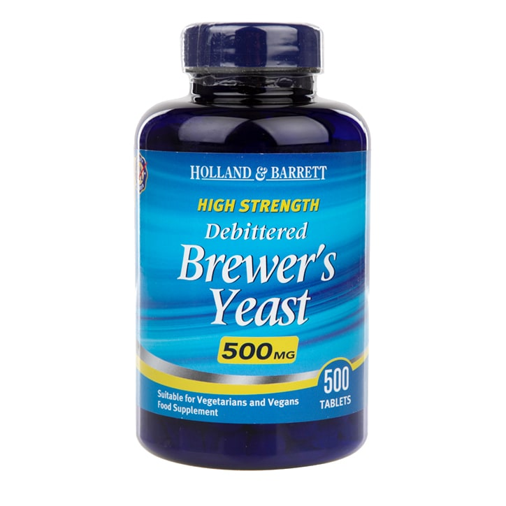 Holland & Barrett Natural Brewers Yeast 500 Tablets 500mg