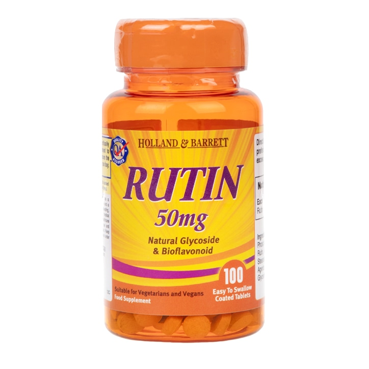 Holland & Barrett Rutin Tablets 50mg