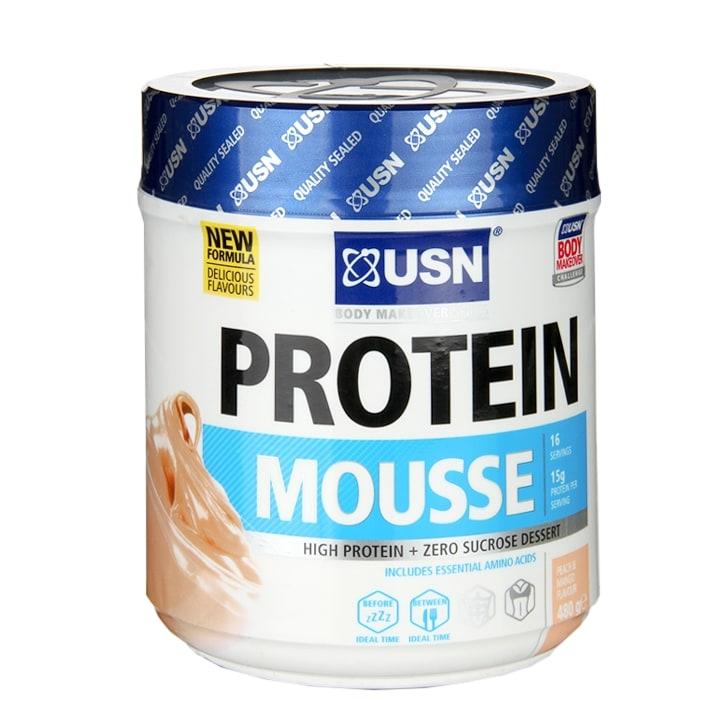 USN Protein Mousse Peach Mango 480g