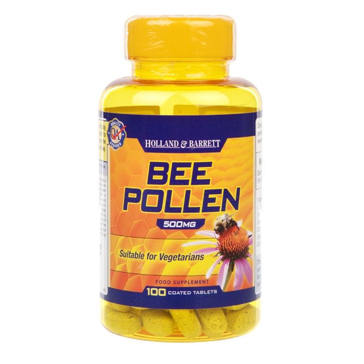 Holland & Barrett Bee Pollen 100 Tablets 500mg