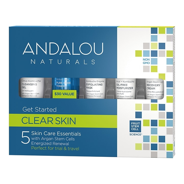Andalou Get Started Clarifying Kit