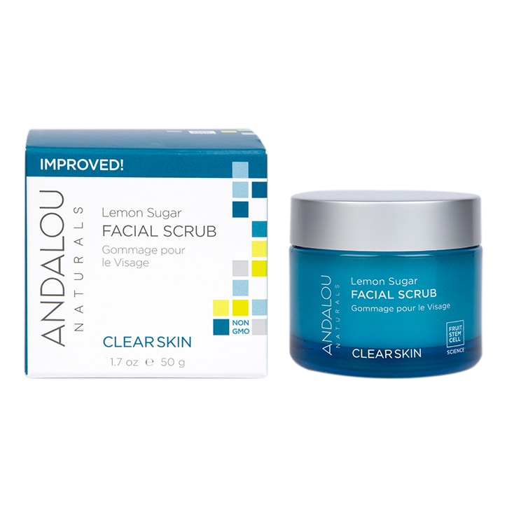 Andalou Lemon Facial Scrub 50ml