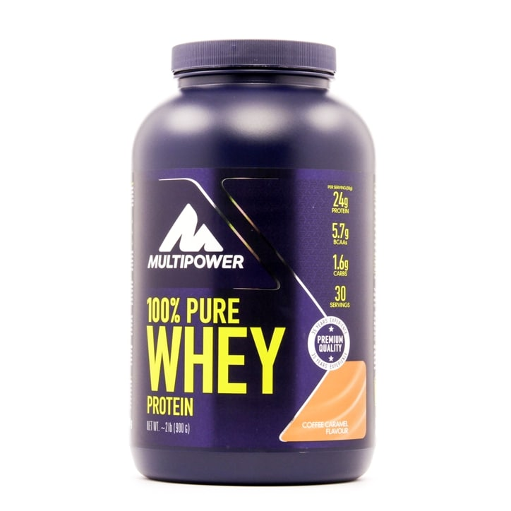 Multipower 100% Whey Protein Coffee Caramel 900g