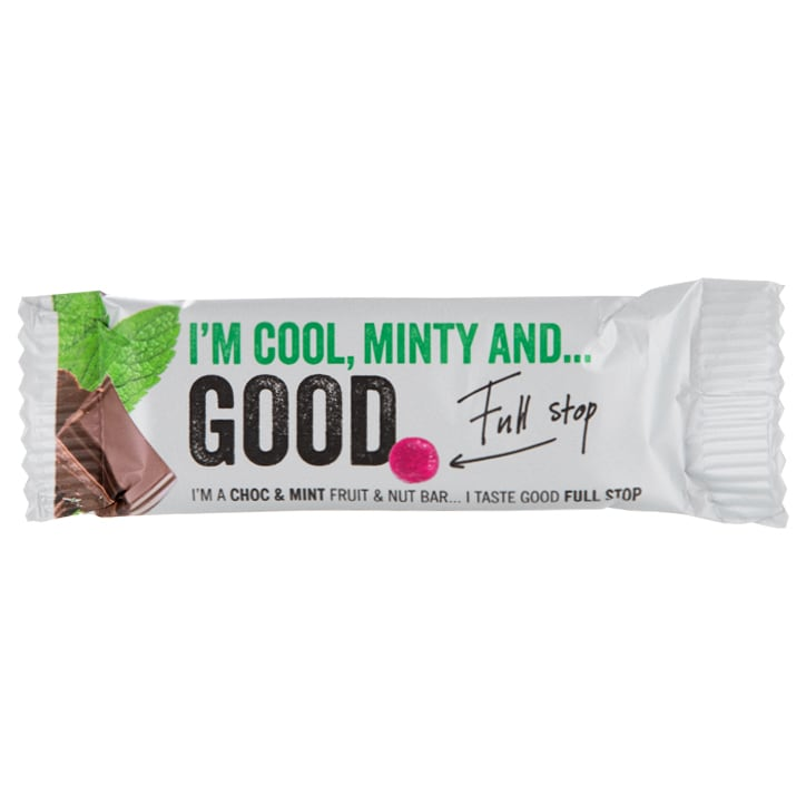 Good Full Stop Choc & Mint Fruit & Nut Bar 35g