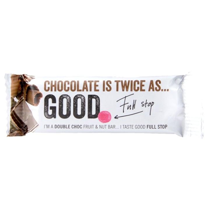Good Full Stop Double Choc Fruit & Nut Bar 35g