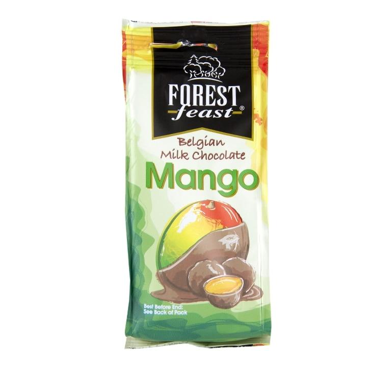 Forest Feast Milk Chocolate Mango 90g