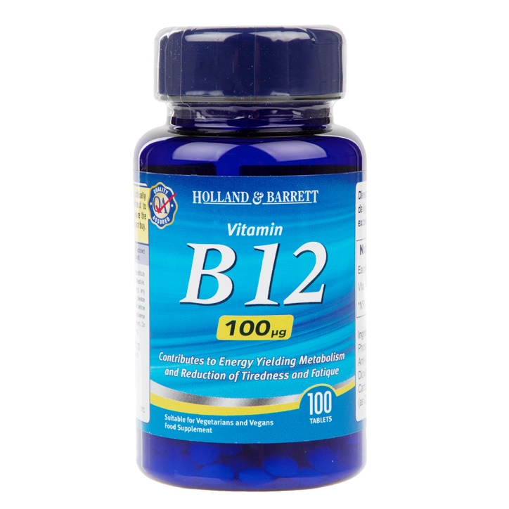 Holland & Barrett Vitamin B12 Tablets 100ug
