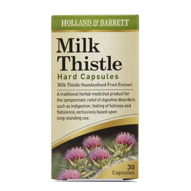 Holland & Barrett Milk Thistle 30 Capsules