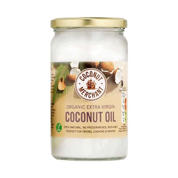 Coconut Merchant Organic Raw Extra Virgin Coconut Oil 1l
