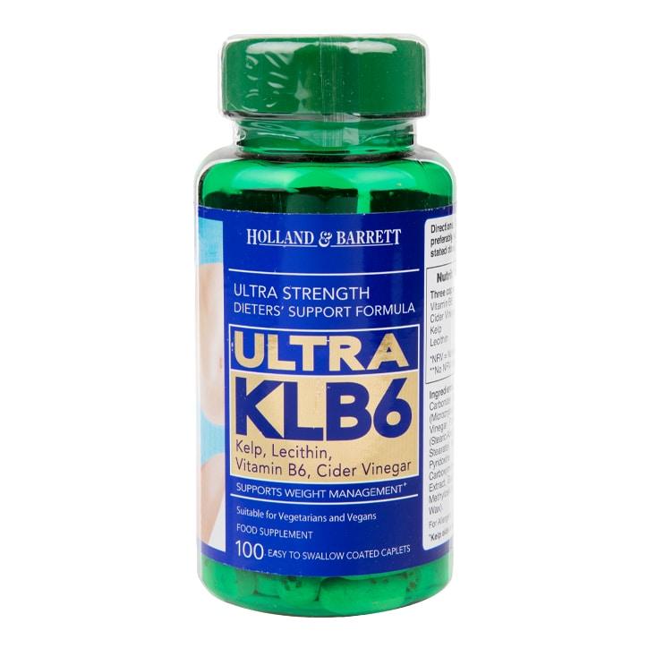 Holland & Barrett Ultra KLB6 100 Caplets