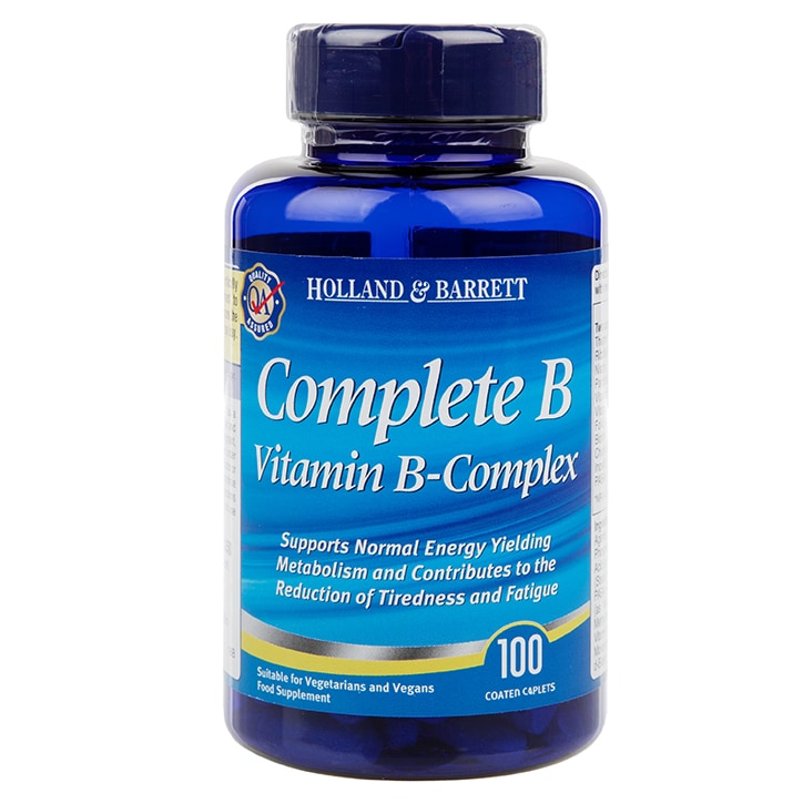 Holland & Barrett Complete B Vitamin B Complex 100 Caplets
