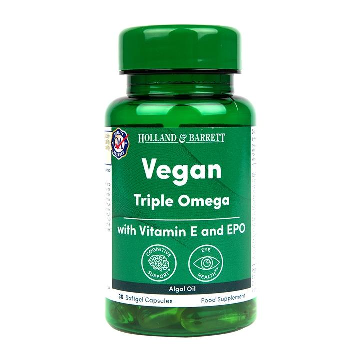Holland & Barrett Vegan Algal Oil Omega 3-6-9 30 Capsules