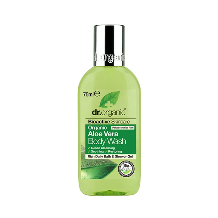 Dr Organic Aloe Vera Body Wash Travel Size