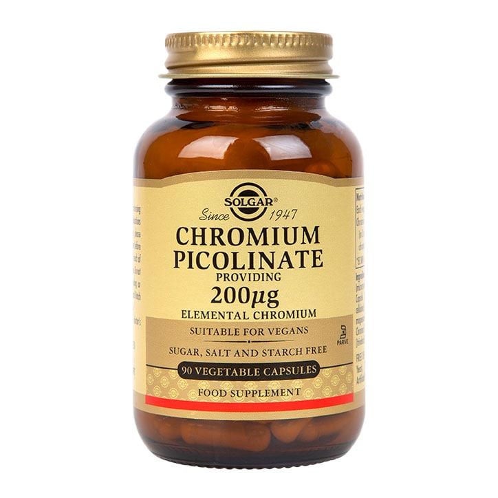 Solgar Chromium Picolinate 200µg Vegi Capsules