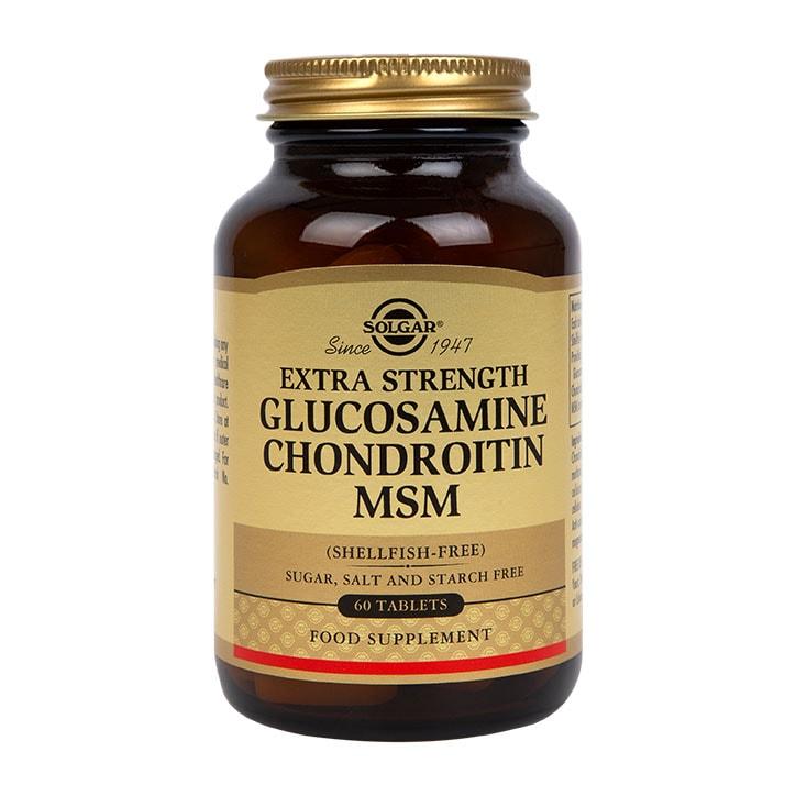 Solgar Extra Strength Glucosamine Chondroitin MSM 60 Tablets