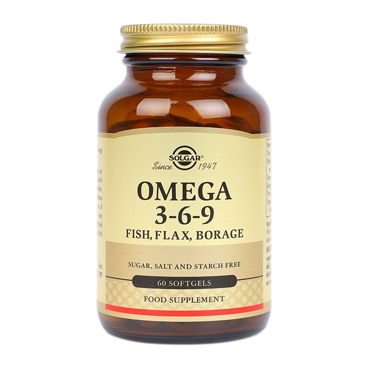 Solgar Omega 3-6-9 Fish, Flax, Borage Softgels