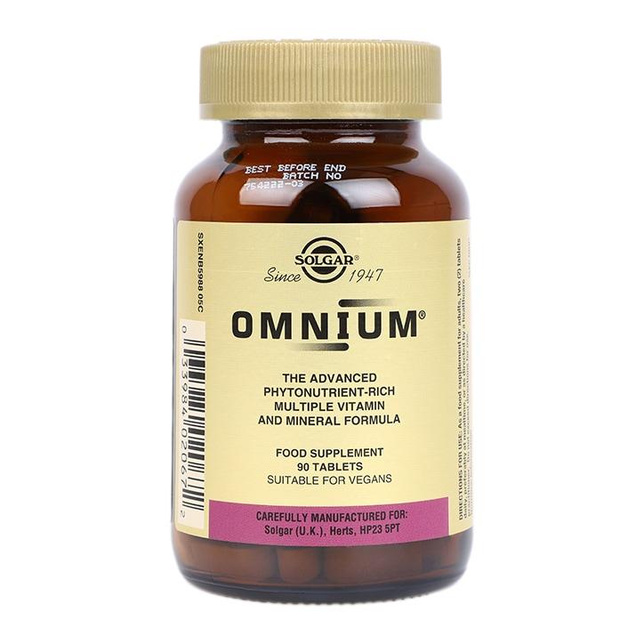 Solgar Omnium Tablets