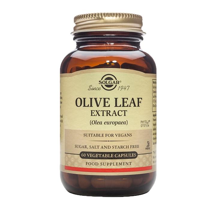 Solgar Olive Leaf Extract 60 Vegi Capsules