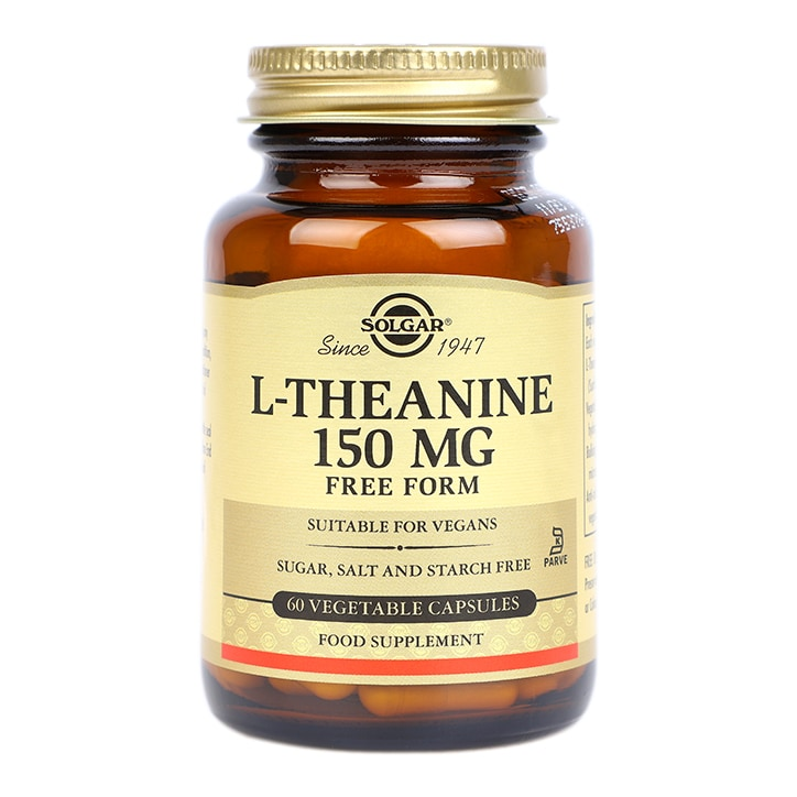 Solgar L-Theanine 150mg Free Form Vegi Capsules