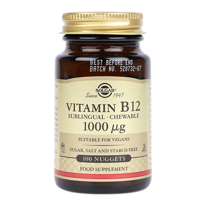 Solgar Vitamin B12 1000µg Nuggets