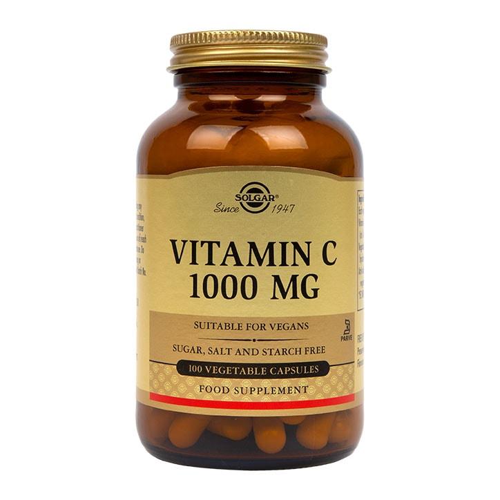 Solgar Vitamin C 1000mg 100 Vegi Capsules
