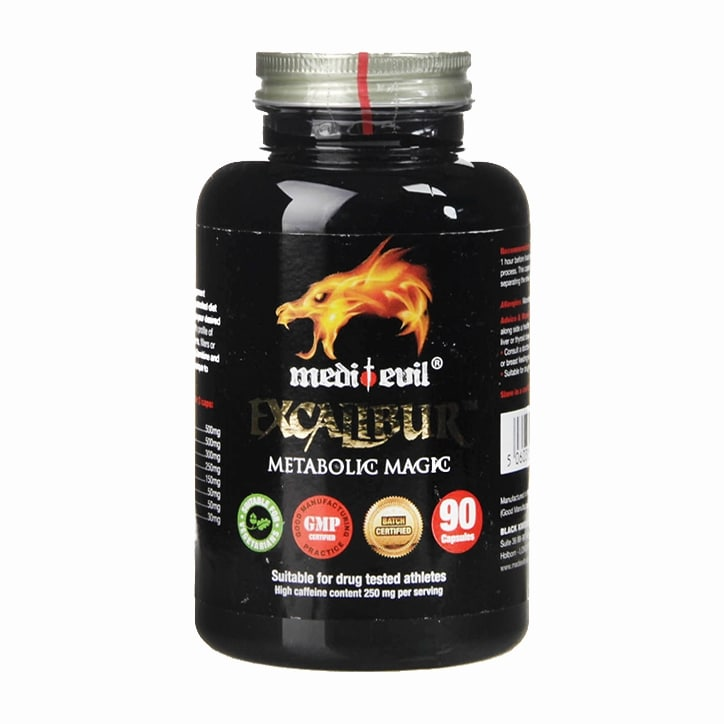Medi-Evil Excalibur Metabolic Magic 90 Capsules