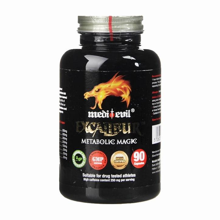 Medi-Evil Excalibur Metabolic Magic 90 Capsules