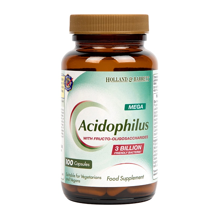Holland & Barrett Mega Potency Acidophilus 100 Capsules