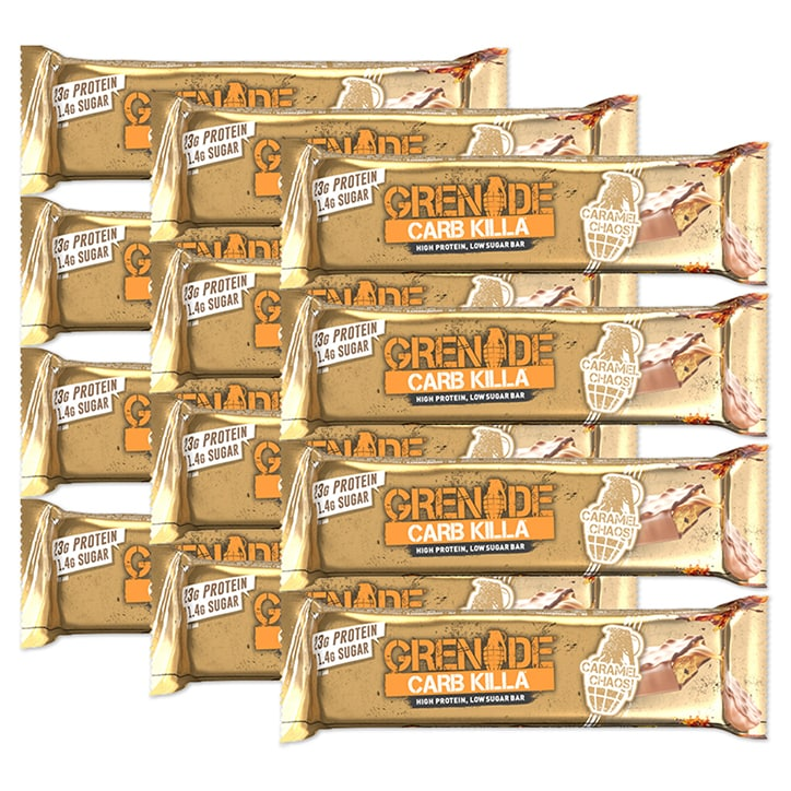 Grenade Carb Killa Bar Caramel Chaos