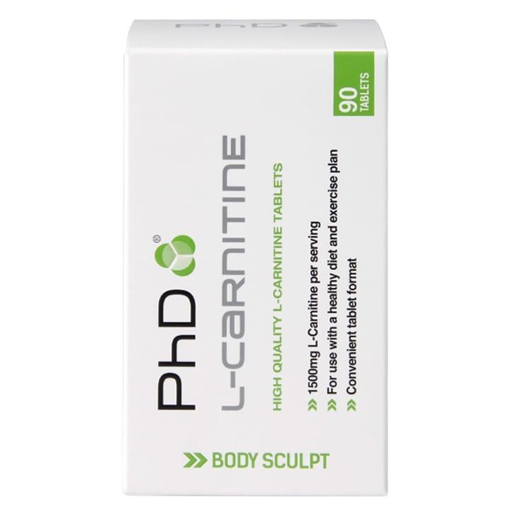 PhD L-Carnitine 90 Tablets