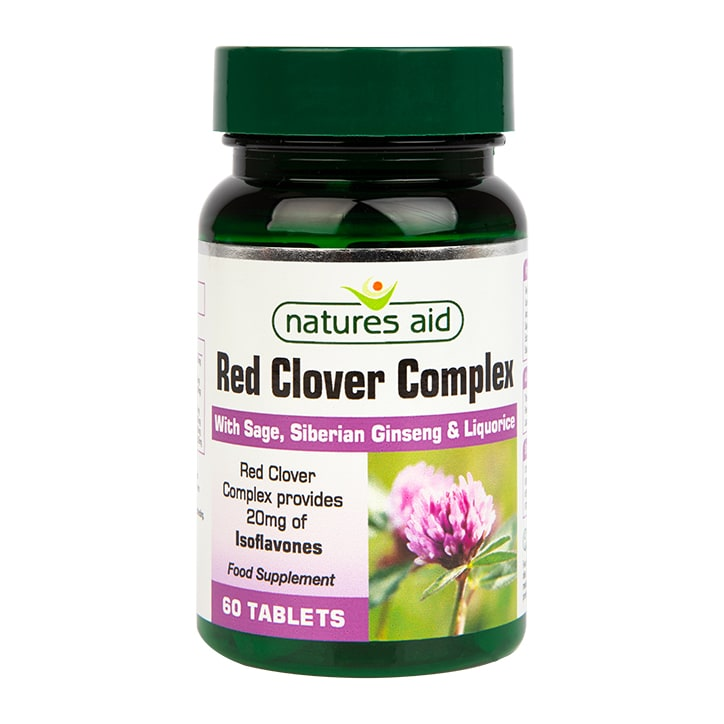 Natures Aid Red Clover Complex 60 Tablets